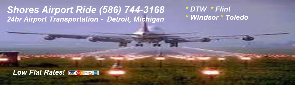 Airport Shuttles to Detroit Metro Airport.